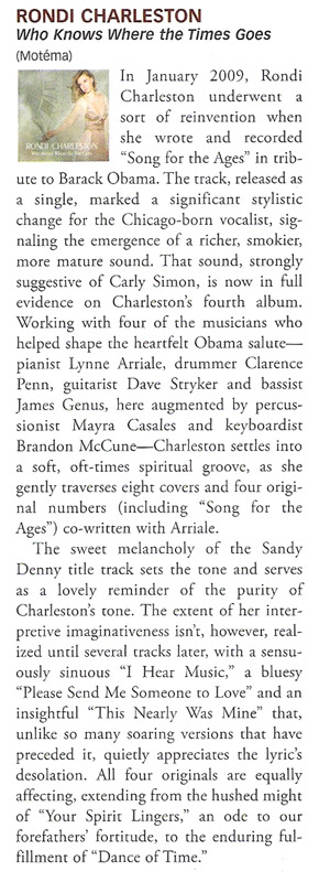 Jazz Times Review