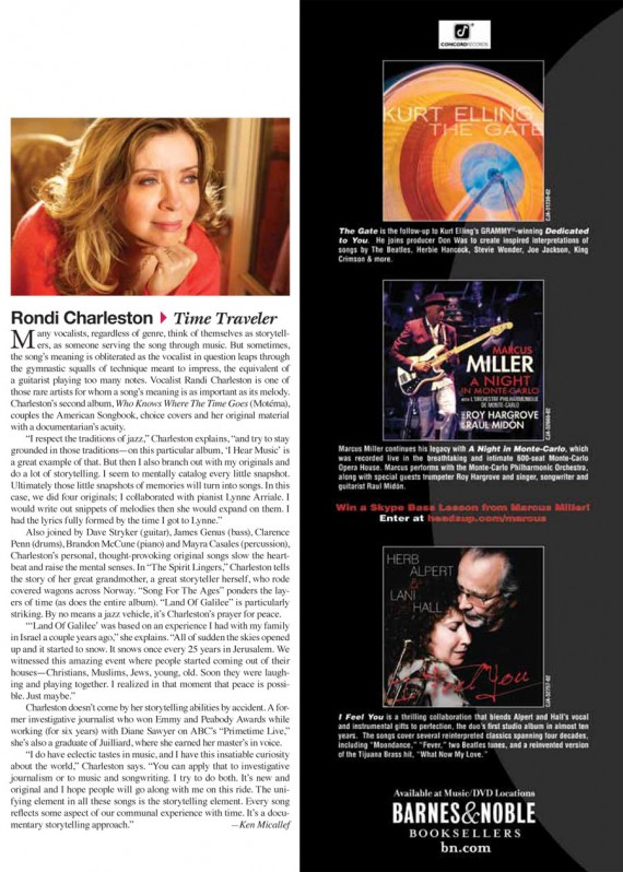 Downbeat March 2011